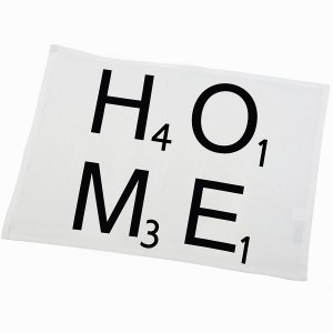 Serweta / podkładka French Home - HOME - biała