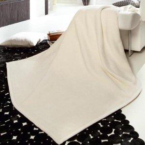 Jednokolorowe koce Bocasa - Orion Cotton - 5 kolorów - 220x240 cm