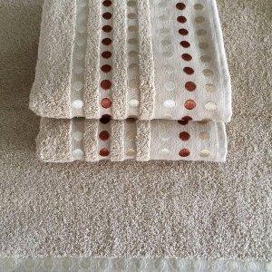 Ręcznik PUNTOS - beżowy