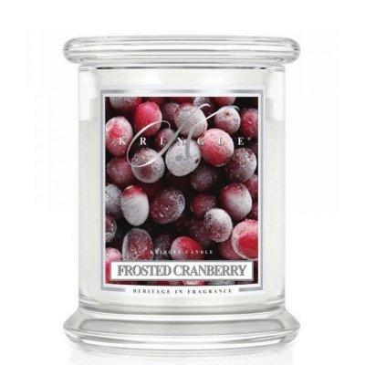 FROSTED CRANBERRY - świeca zapachowa KRINGLE CANDLE - 75 godzin