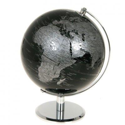 Globus - Black - średnica 20 cm
