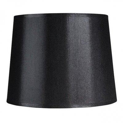 Abażur Belldeco - średnica 20 cm - czarny