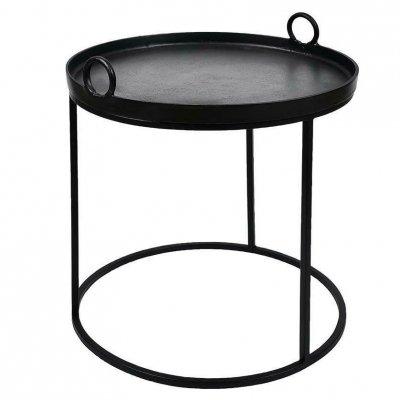 Stolik Belldeco - Nero - średnica 59 cm