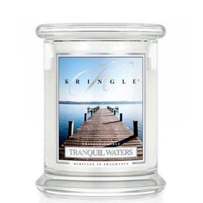 TRANQUIL WATERS - świeca zapachowa KRINGLE CANDLE - 75 godzin