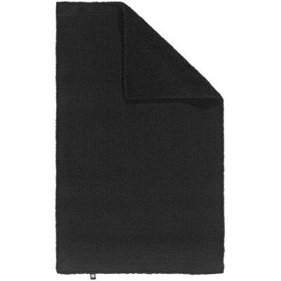 Dywanik łazienkowy Rhomtuft - PUR - czarny