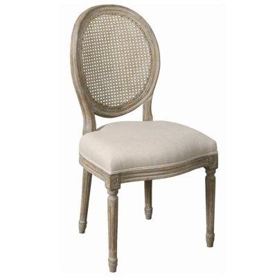 Krzesło Belldeco - Classic - oparcie ratanowe