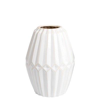 Wazon Belldeco Pastel - biały - wysokość 27,8 cm