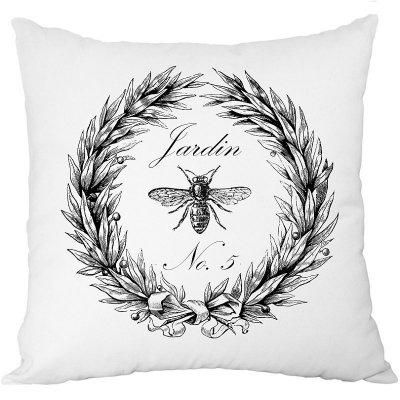 Poduszka French Home - Jardin - biała