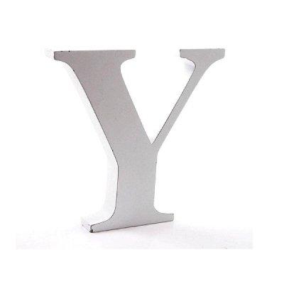 Litera dekoracyjna duża - Y - biała