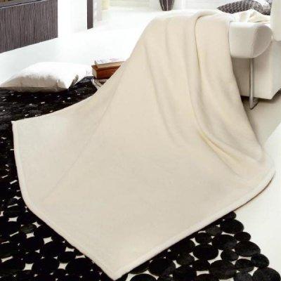 Jednokolorowe koce Biederlack - Orion Cotton 220x240 cm - 3 kolory