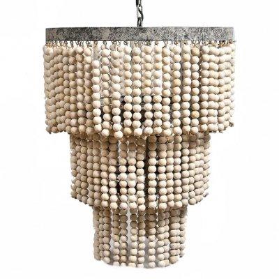 Lampa sufitowa Belldeco - VINTAGE - z koralików