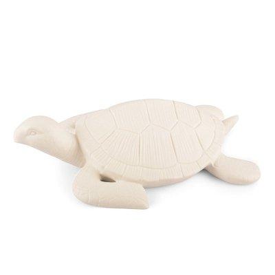 Dekoracyjna figurka - Żółw - ecru