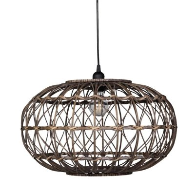Lampa sufitowa Chic Antique - Rattanowa