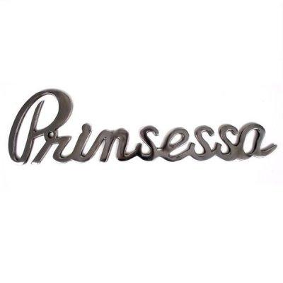 Napis dekoracyjny - Prinsessa