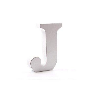 Litera dekoracyjna mała - J - biała