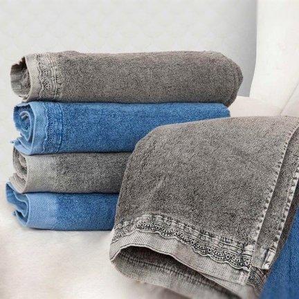 Ręcznik DENIM - szary
