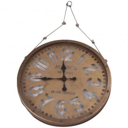 Zegar na łańcuchu ENJOYED - 61,5 cm
