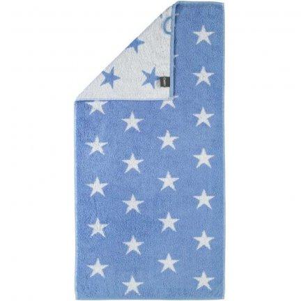 Ręcznik Cawo Stars Small - niebieski