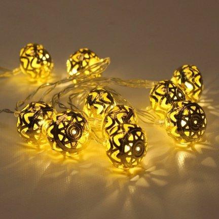 Lampki Led Na Baterie Ozdobne światełka Led Z Timerem