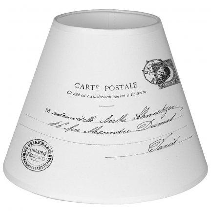 Abażur French Home - Carte Postale - średnica 25 cm