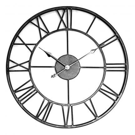 Zegar Old Style - 45 cm - czarny