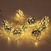 Lampki dekoracyjne LED z timerem - ORIENT 2 - srebrne