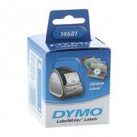 Dymo etykiety na CD 57mm, białe, 160 szt., 14681, S0719250