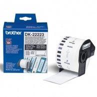 Brother rolki papierowe 50mm x 30.48m, biała, 1 szt., DK22223, do drukowania etykiet