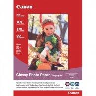Canon Photo paper Everyday Us, foto papier, połysk, biały, 10x15cm, 4x6, 170 g/m2, 100 szt., GP-501, atrament