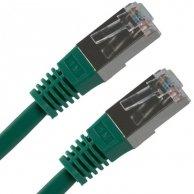FTP patchcord, Cat.5e, RJ45 M/5m, chroniony, zielony, No Name