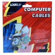 Kabel do dysku twardego rozgałęźnik, DC(5,25)-DC(5,25+ 3,5), M/F, 0.2m, Logo