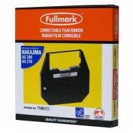 Taśma do maszyny do pisania dla Nakajima AX 200, 300, 500, 60, EW 310, 1000, czarna, foliowa, PK143