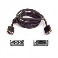 Video Kabel VGA(D-sub)-VGA(D-sub), M/F2m, No Name
