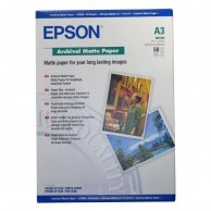 Epson Archival Matte Paper, biała, 50, szt. szt., C13S041344, do drukarek atramentowych, 297x420mm (A3), A3, 192 g/m2