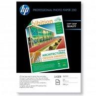 HP Profesional Glossy Lase, foto papier, połysk, biały, A4, 200 g/m2, 100 szt., CG966A, laser