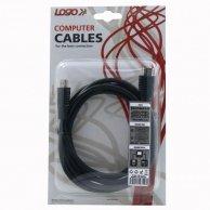 Audio/video kabel High Speed, HDMI-HDMI, M/M2m, Logo, blistr