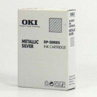 OKI oryginalny ink 41067616, metallic silver, OKI DP-5000