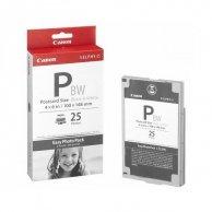 Canon Easy Photo Pack E-P25BW, foto papier, połysk, biały, Selphy ES-1,ES-2,ES-20, 10x15cm, 4x6, 25 szt., 1251B001AA