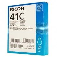 Ricoh oryginalny żelowe wypełnienie 405762, cyan, 2200s, GC41HC, Ricoh AFICIO SG 2100N