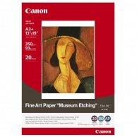 Canon, Fine Art Paper Museum Etching, biały, A3+, 350 g/m2, 21 szt., do drukarek atramentowych, FA-ME1 A3+
