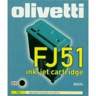 Olivetti oryginalny ink B0494, black, Olivetti Fax-Lab 101, 128, FJ51
