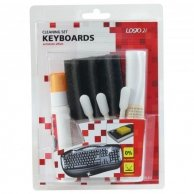 Środki czyszczące zestaw, na klawiaturę, spray 50ml., 5 ściereczek, 3, LOGO
