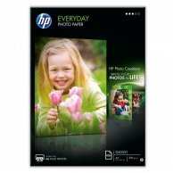 HP Everyday Glossy Photo P, foto papier, połysk, biały, A4, 200 g/m2, 100 szt., Q2510A, atrament,do codziennego użytku