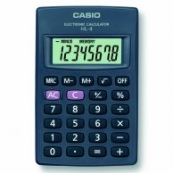 Kalkulator Casio, HL 4, czarna