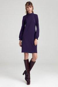 Sukienka cs39 - fiolet - CS39