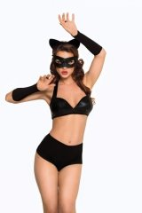 Catwoman - black 1831 komplet kocica