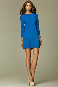 Sukienka - niebieski - S28