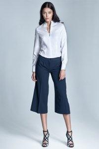 Spodnie culottes - granat - SD24