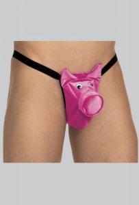 Stringi świnka 6543 różowy