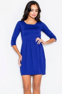 Figl 122 sukienka PROMO blue